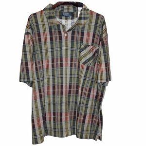 NWT $95 Polo Ralph Lauren Plaid Shirt Soft 2XB